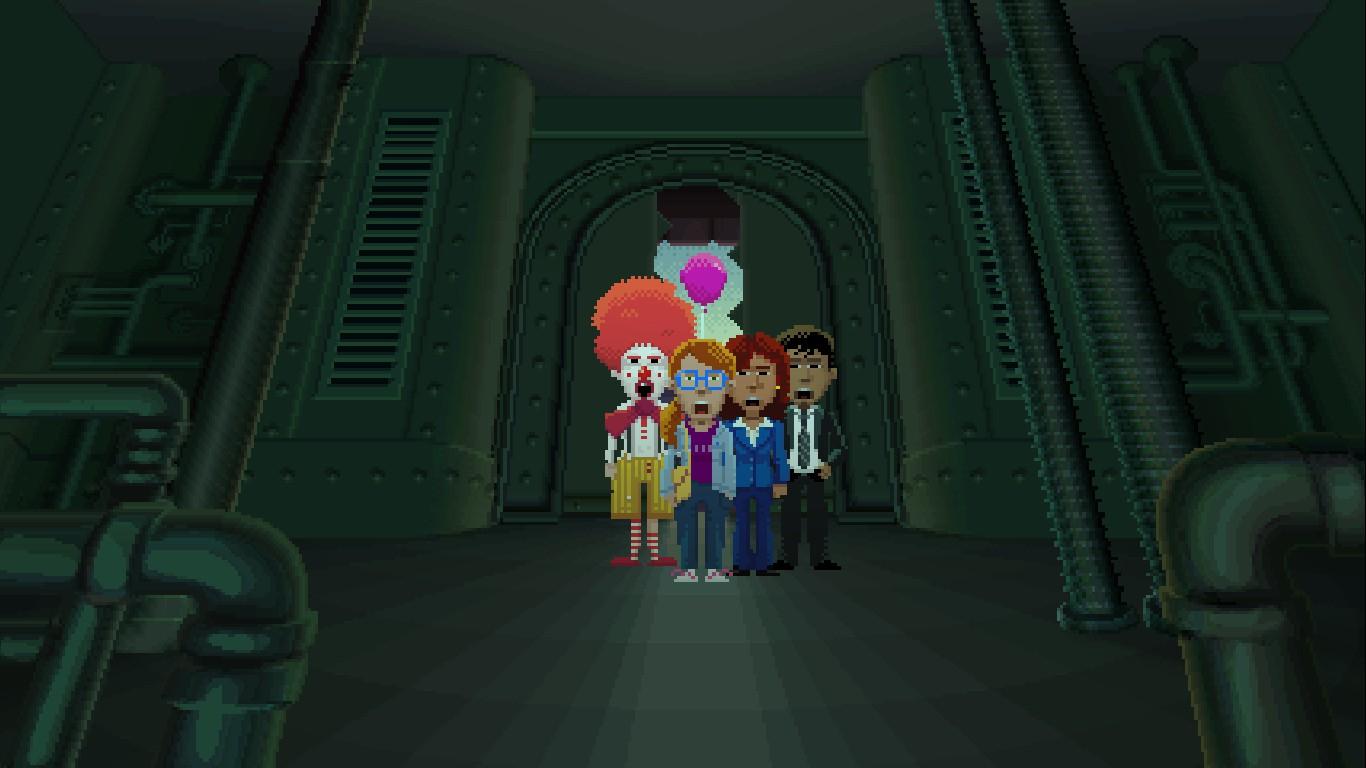 Les 4 personnages jouables de Thimbleweed Park