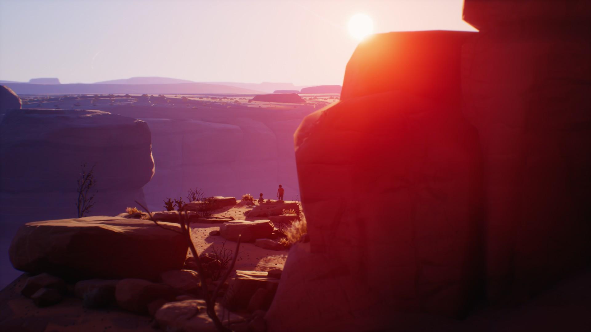 Un canyon dans Life is Strange 2