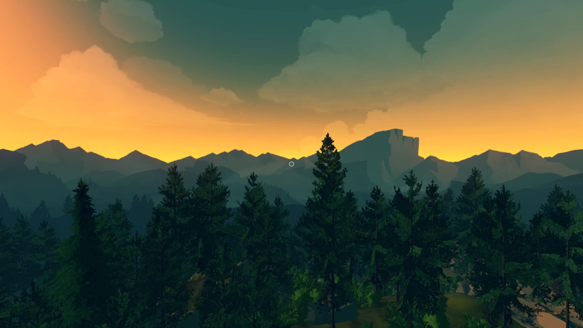 Test PS4 de Firewatch, la forêt