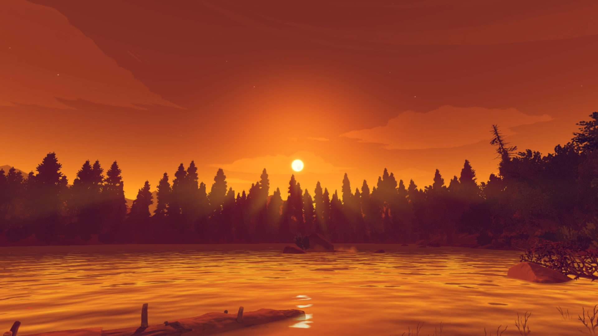 Test PS4 Firewatch Wyoming