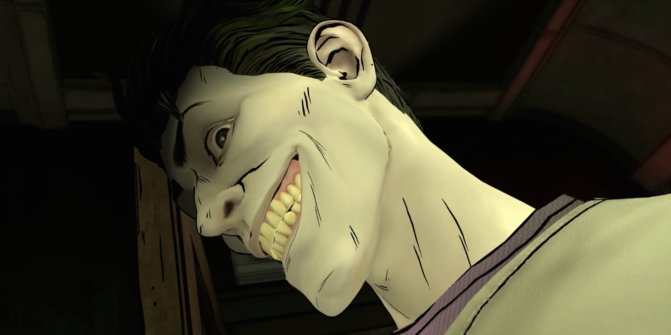 Le Joker dans Batman Telltale Series #4