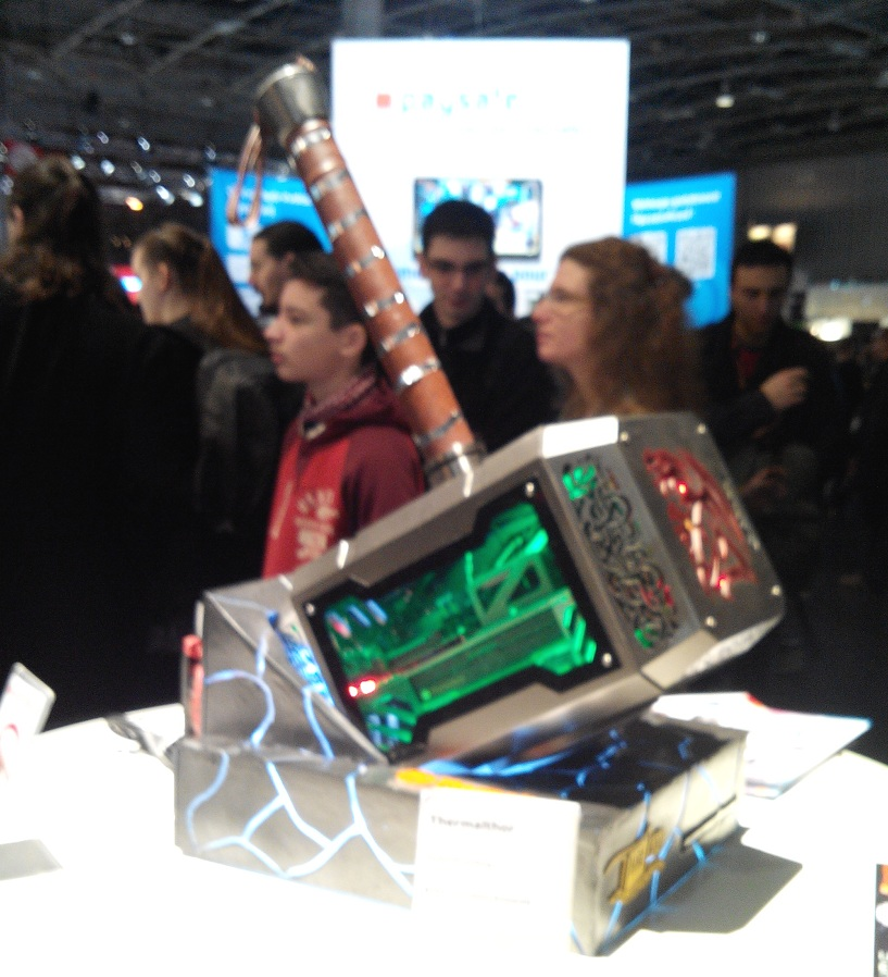 PC Thor vu à la Paris Games Week 2015